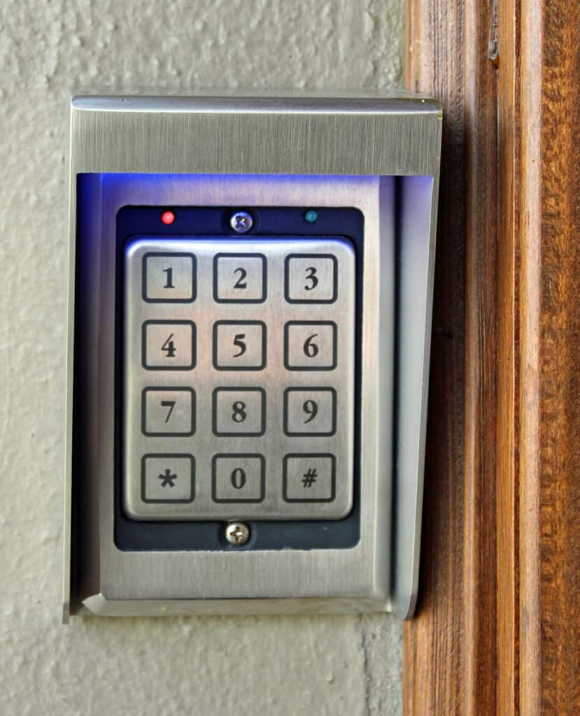 Common Area Keypad